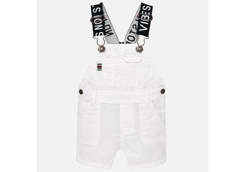 Mayoral White dungarees