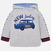 Mayoral Hoody gray with car