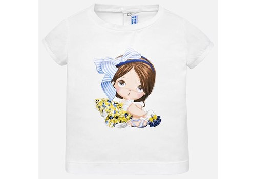 Mayoral T-Shirt weiß