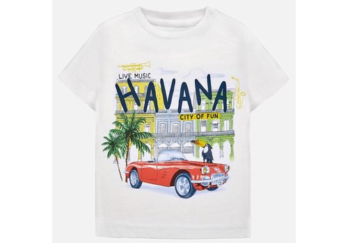 Mayoral Mayoral t-shirt wit