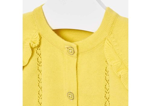 Mayoral Vest Citrus yellow