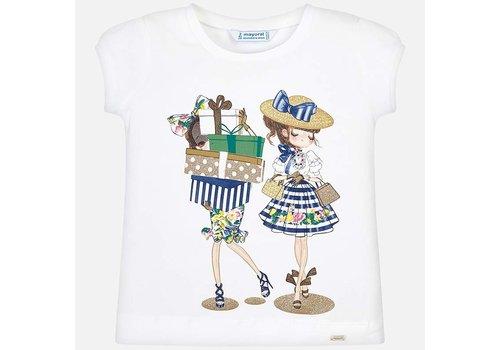 Mayoral White T-shirt