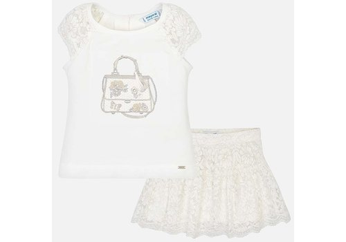 Mayoral Skirt set