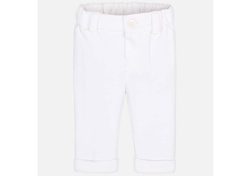 Mayoral Baby pants white