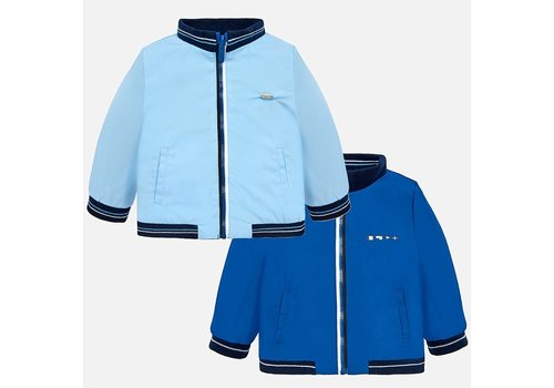 Mayoral Jacket aqua light blue