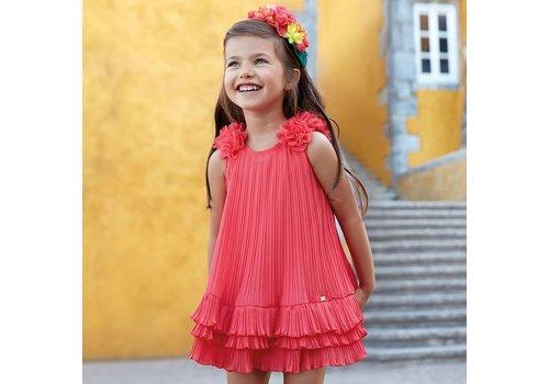 Geplooide jurk