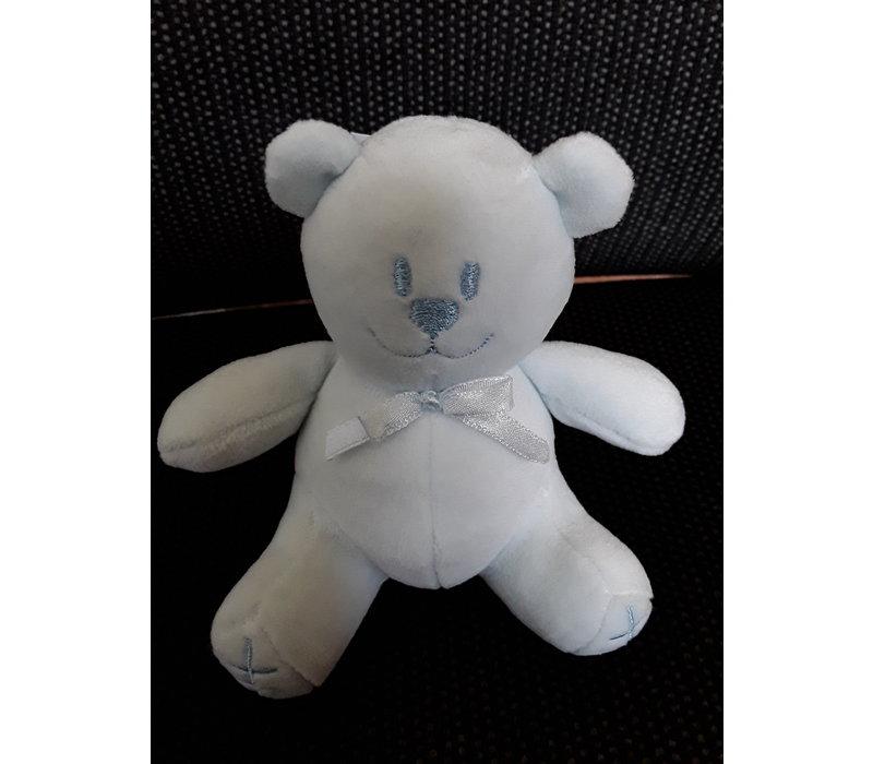 Small teddy bear light blue