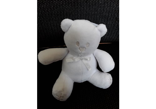 Emile et rose Small teddy bear white