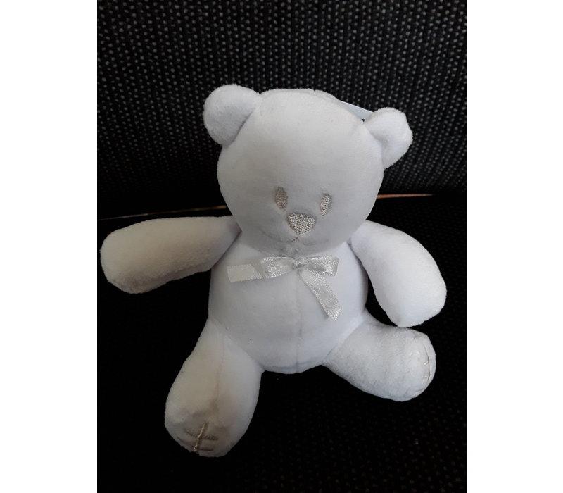 Small teddy bear white