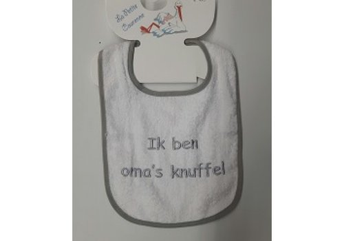 LPC Bib with text grandma