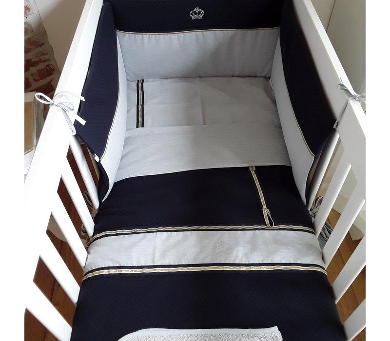 Crown prince crib blanket