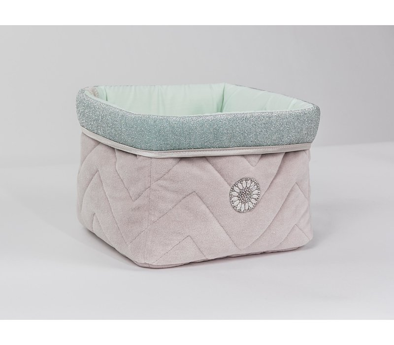 Nursery basket royal collection glamor mint
