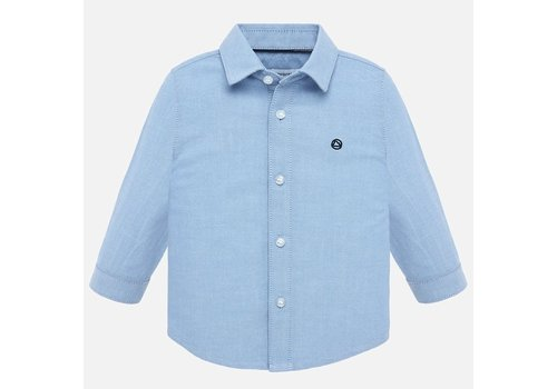 Mayoral Beautiful lavender blue shirt with long sleeves