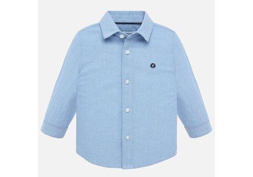 Mayoral Mayoral lichtblauw overhemd