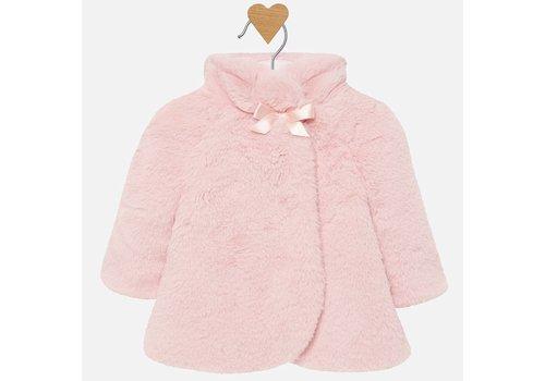 Mayoral Mayoral teddyzacht oud-roze jasje