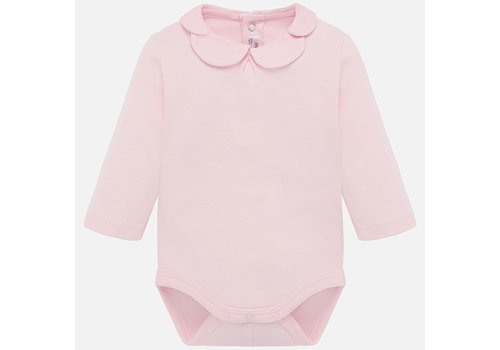 mayoral Pink body with long sleeves.