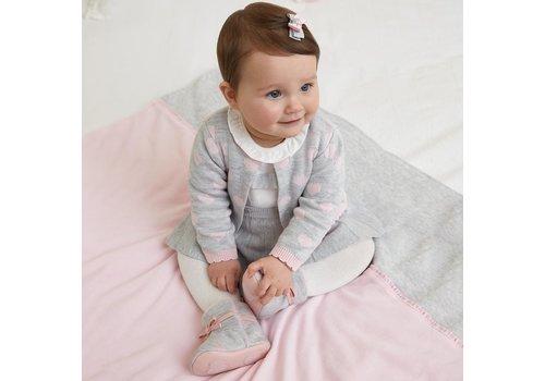 Mayoral Wunderschönes komplettes fein gestricktes Babyset.