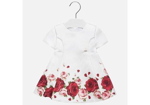 mayoral White rose dress