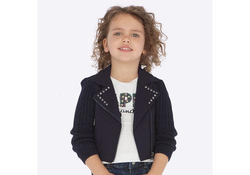 mayoral Dark blue short jacket