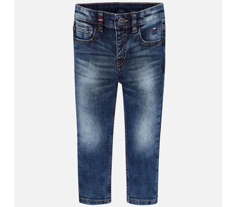 Basic Jeans, super schlank
