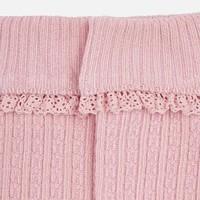 Pink knee socks