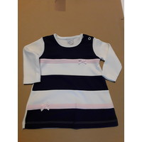 Striped baby dress