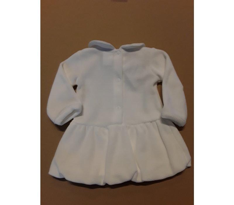 Cremefarbenes Babykleid