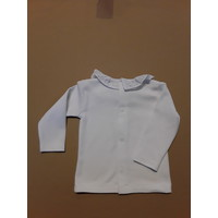 LPC. white shirt long sleeves with embroidery collar