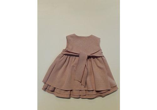 LPC LPC feestelijk oud roze glitter jurkje