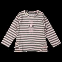 Dirkje gestreiftes Hemd pink-grau