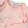 Dirkje Dirkje zacht roze shirtje lange mouw