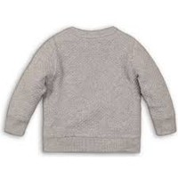 Dirkje gray boys sweater with eyes