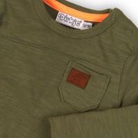 Dirkje groen shirt lange mouw