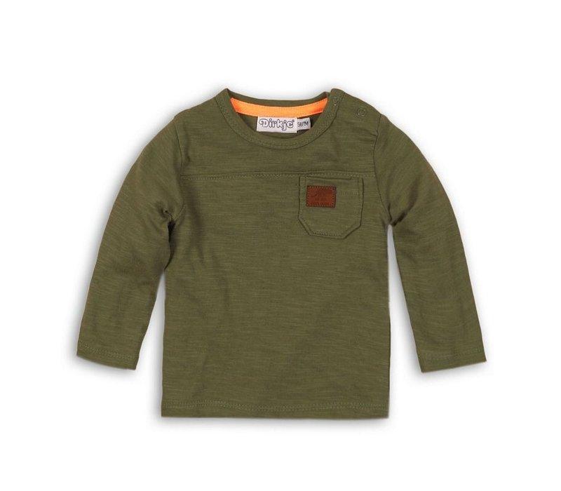 Dirkje green shirt long sleeve