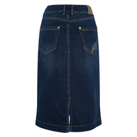 HV Polo Jeansrock Denim blau