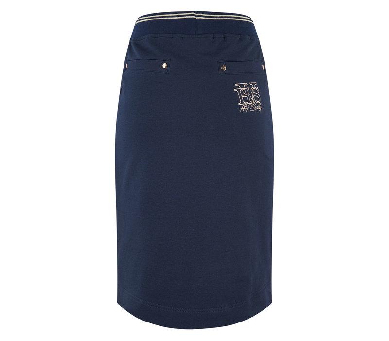 HV polo rok Bibby marine blauw