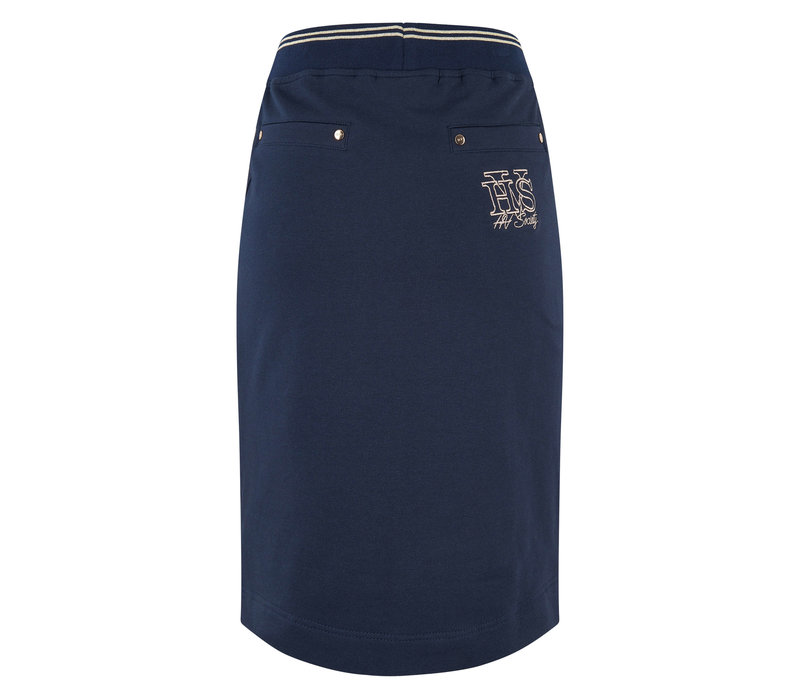 HV polo skirt Bibby navy blue