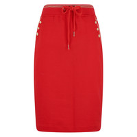 HV polo skirt Bibby bright red