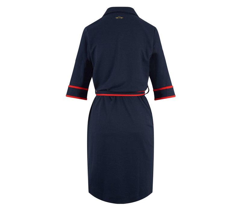 HV Polo dress Diana navy blue