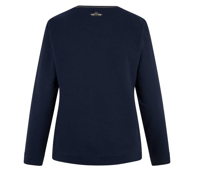 HV Polo-Pullover Toto marineblau