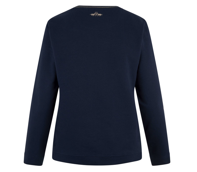 HV Polo sweater Toto navy blue