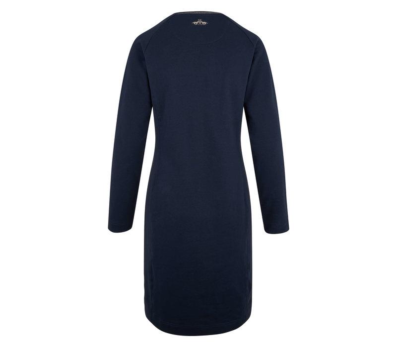 HV Polo Kleid Donna marineblau