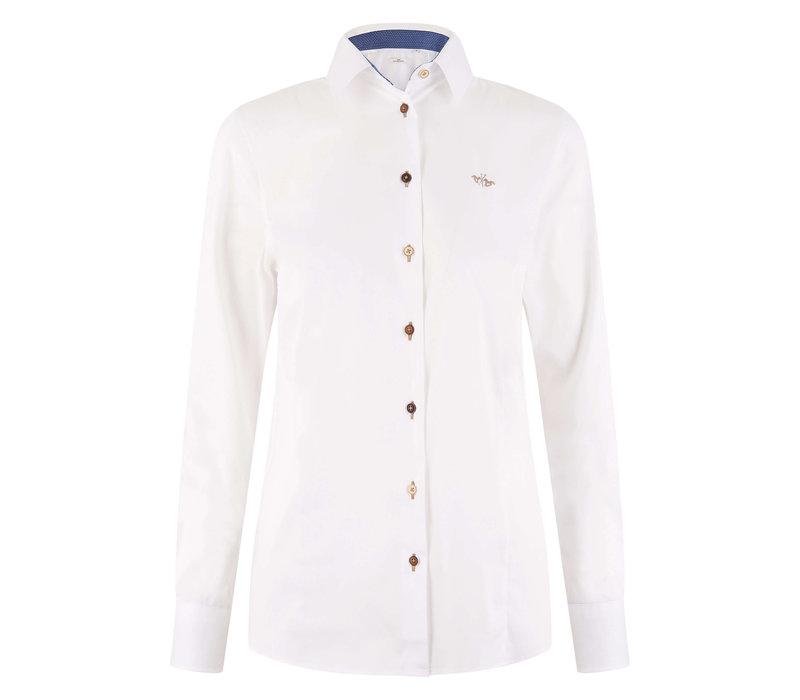 HV Polo Bluse Sari weiß