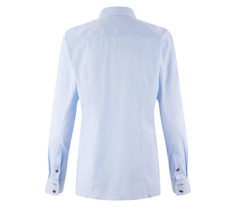 HV Polo blouse Sari lichtblauw