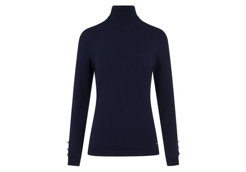 HV Polo HV Polo blue turtleneck