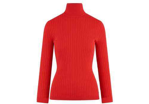 HV Polo HV Polo red turtleneck Rita