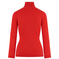 HV Polo classic red turtleneck Rita