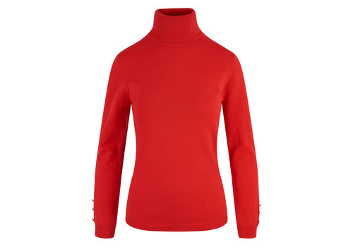 HV Polo HV Polo red turtleneck