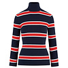 HV Polo HV Polo sporty classic turtleneck multi stripe