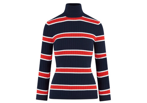 HV Polo HV Polo turtleneck multi stripe